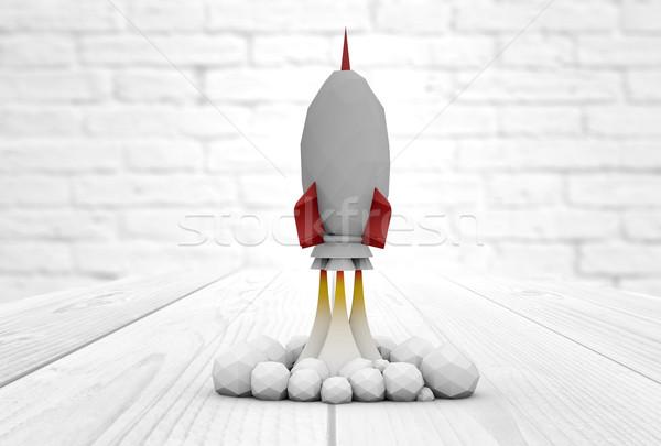 rocket launch Stock photo © georgejmclittle