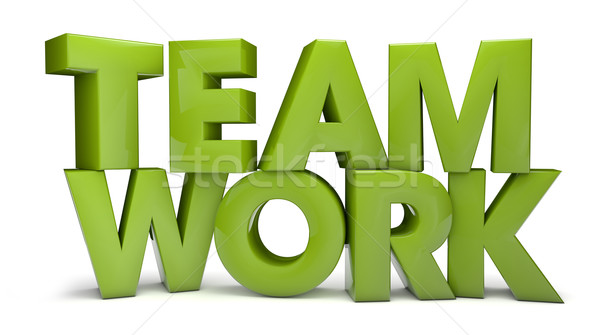 teamwork Stock photo © georgejmclittle