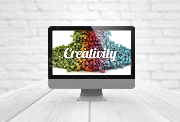 computer creativity Stock photo © georgejmclittle
