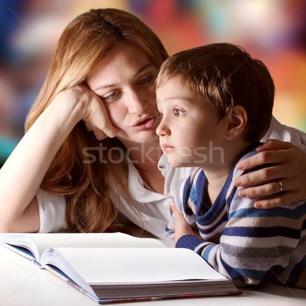 Story daydreaming Stock photo © georgemuresan