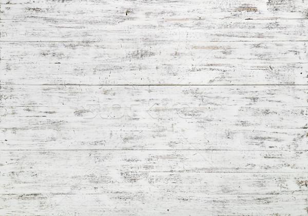 белый древесины доски природного текстуры Сток-фото © georgemuresan