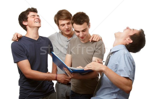 Stock photo: Funny time