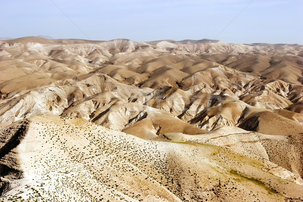 Desierto panorama valle Israel cerca paisaje Foto stock © georgemuresan