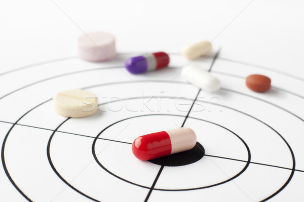The targeted disease Stock photo © georgemuresan