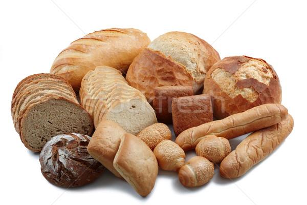 Grupo diferente pão produtos Foto stock © georgemuresan
