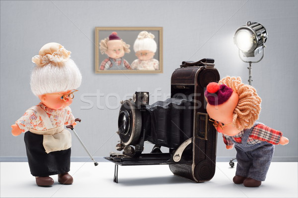 Passion for photography Stock photo © georgemuresan