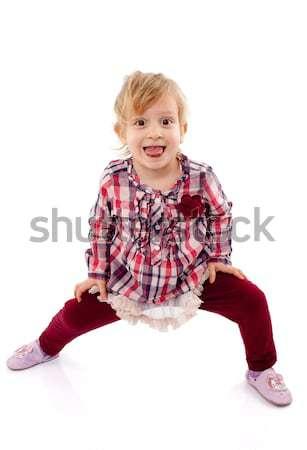 девушки девочку играет Сток-фото © georgemuresan