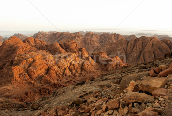 Holy ground in early morning Stock photo © georgemuresan