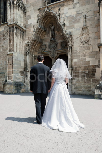 Man and woman marriage Stock photo © georgemuresan