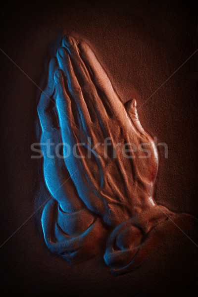 Praying hands Stock photo © georgemuresan