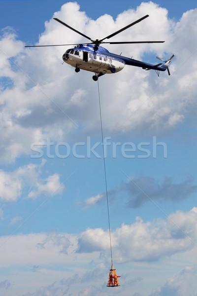 Rescue mission Stock photo © georgemuresan