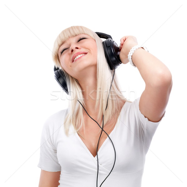 Listening to Music Stock photo © georgemuresan