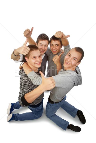 Rejoicing togheter Stock photo © georgemuresan
