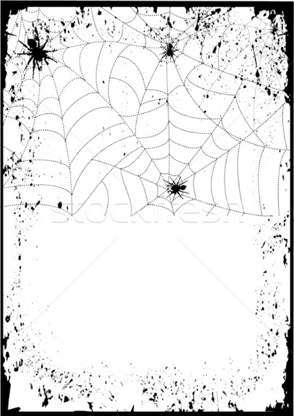 Spiders web background Stock photo © GeraKTV