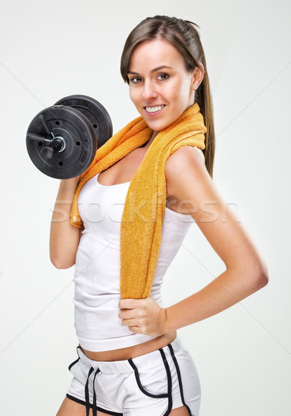 Live a healthy lifestyle! Have a nice body!  Stock photo © Geribody