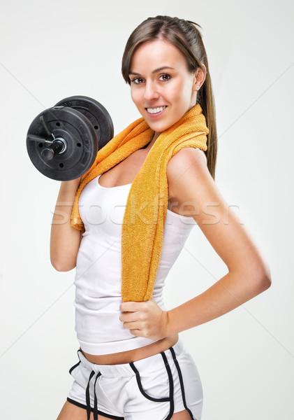 Viver bom corpo mulher água Foto stock © Geribody