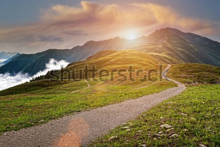 Beautiful mountains landscape  Stock photo © Geribody