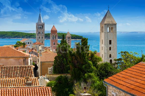 City of Rab, Croatia Stock photo © Geribody