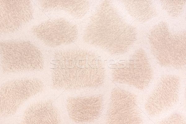 Giraffe Fell Nachahmung abstrakten Design Hintergrund Stock foto © Geribody