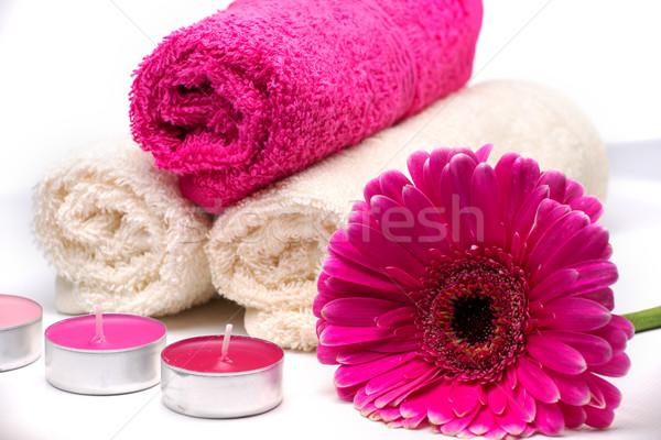 Trattamento termale aromaterapia corpo bellezza verde massaggio Foto d'archivio © Geribody