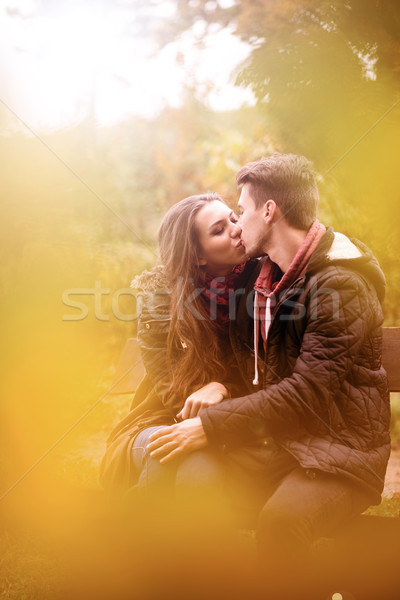 Love in the Park Stock photo © Geribody