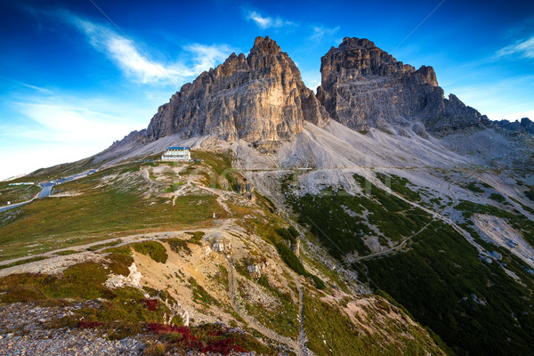 Italy, Dolomites - a wonderful landscape, the barren rocks  Stock photo © Geribody