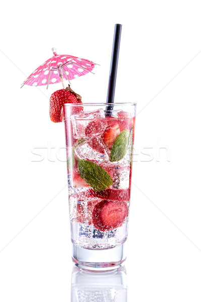 Strawberry Mojito  Stock photo © Geribody