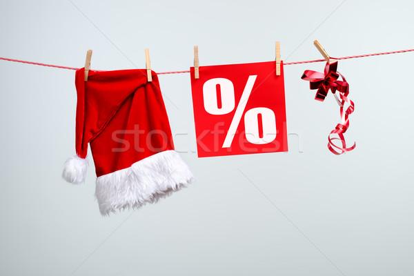 Noel satış kâğıt sevmek soyut arka plan Stok fotoğraf © Geribody