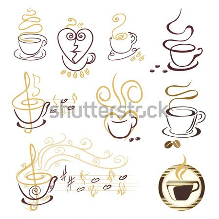 coffee cup Stock photo © Ghenadie
