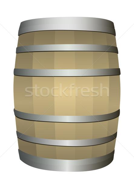 wooden barrel  Stock photo © Ghenadie