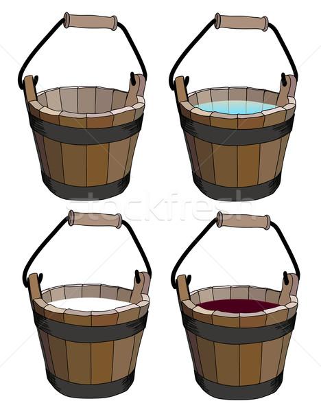 bucket  Stock photo © Ghenadie