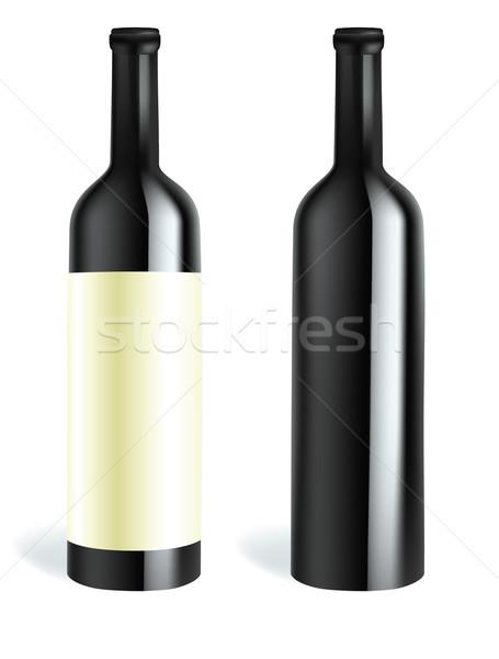 wine bottle Stock photo © Ghenadie