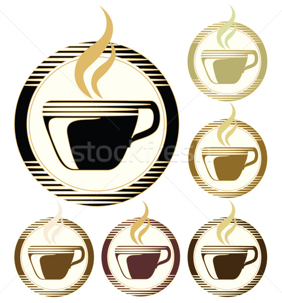 coffee cups Stock photo © Ghenadie