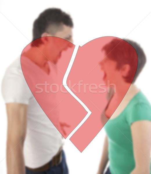 若い男 女性 その他 失恋 孤立した ストックフォト © gigra