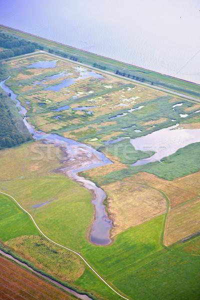 Сток-фото: голландский · природы · пейзаж · воды · Форрест