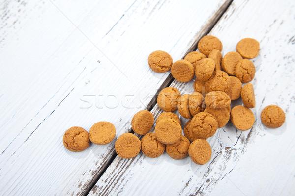 オランダ語 キャンディ 白 木製 甘い ストックフォト © gigra