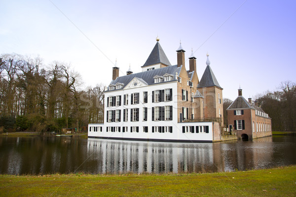 View at castle of Renswoude, The Netherlands Stock photo © gigra