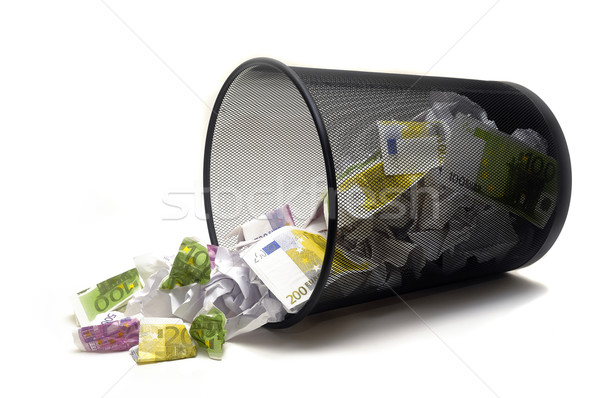 To throw its money Stock photo © Gilles_Paire