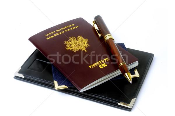 biometric passport Stock photo © Gilles_Paire
