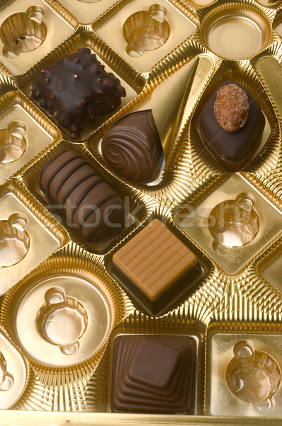 chocolates Stock photo © Gilles_Paire