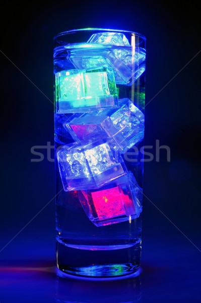 Luminous ice floes to have fun Stock photo © Gilles_Paire