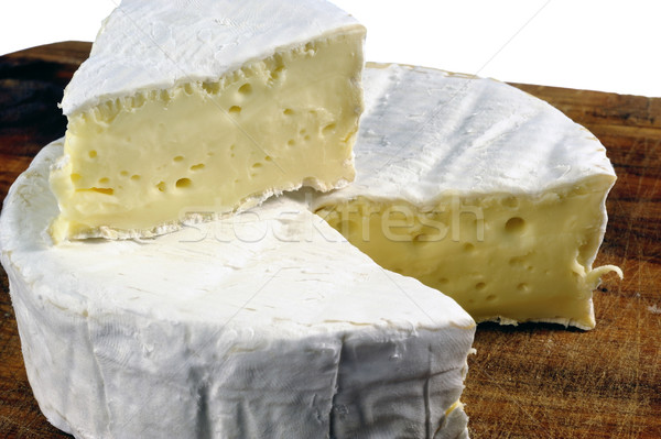 French Camembert cheese of Normandy Stock photo © Gilles_Paire
