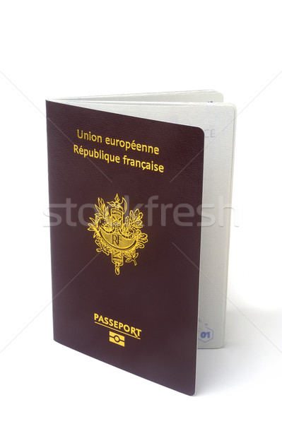 biometric passport Stock photo © Gilles_Paire