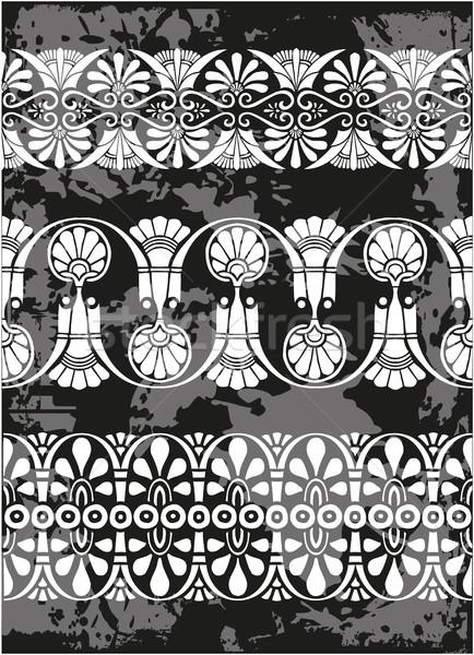 набор антикварная греческий украшения Сток-фото © gintaras