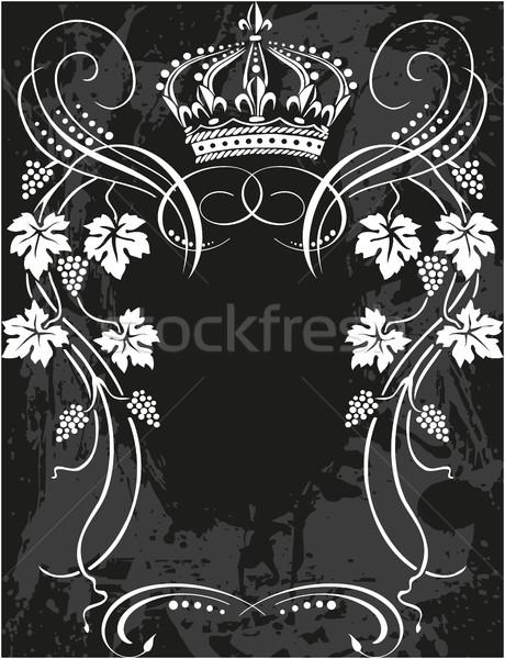 Stock photo: Vintage floral elements for design.