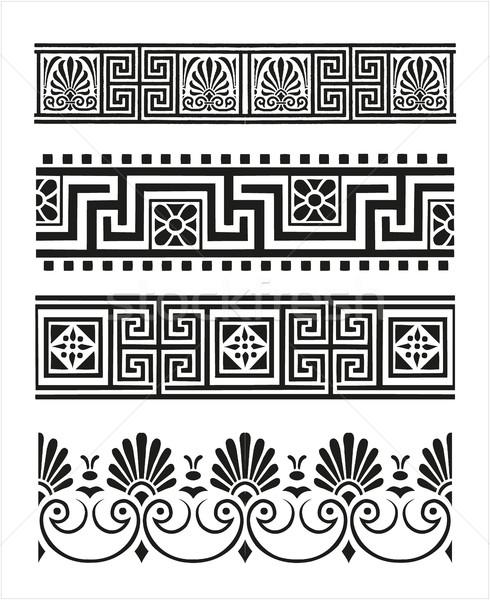 Conjunto antigo grego Foto stock © gintaras