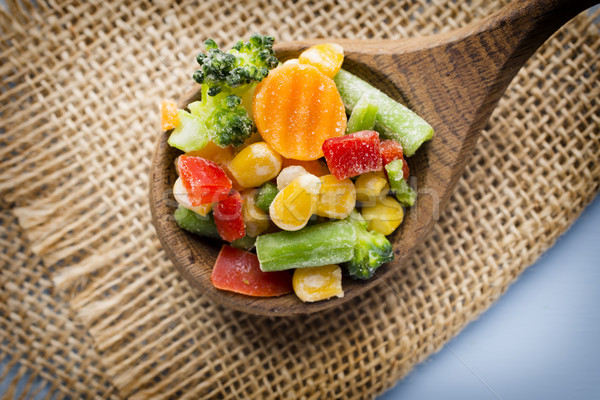 Frozen vegetables. Stock photo © gitusik