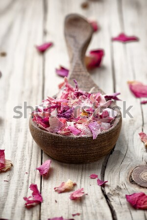 Homeopathic sea salt. Stock photo © gitusik