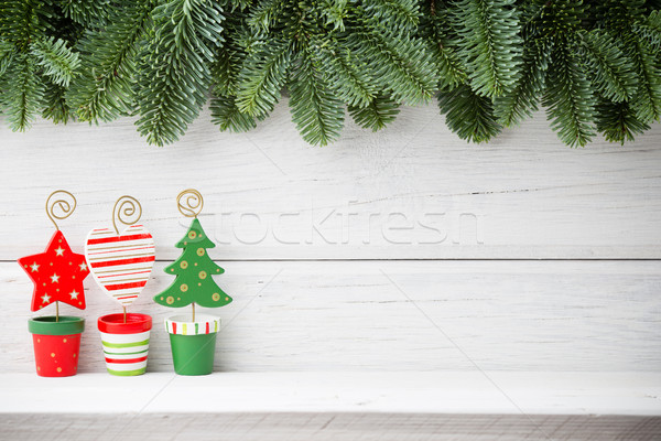 Stockfoto: Christmas · achtergronden · houten · hout · abstract