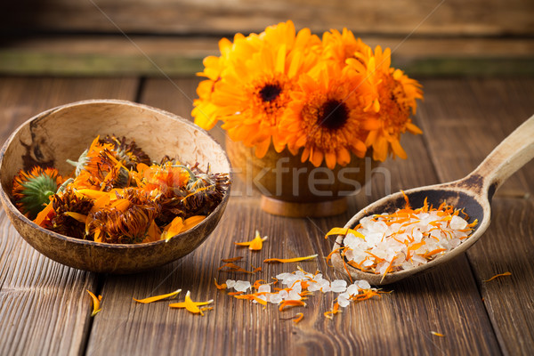Calendula homeopathic. Stock photo © gitusik